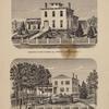Residence Of John H. Milton, Esq., Westfield, Chautauqua Co., N.Y.; Residence Of Dr. F.B. Brewer, Westfield. Chautauqua Co., N.Y.