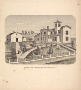 Residence of John R. Robertson, Esq., Busti, Chautauqua Co. N.Y.