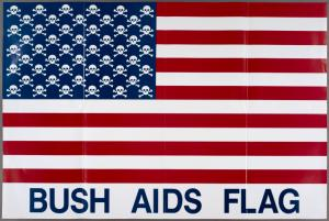 Bush AIDS Flag