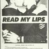 Read My Lips (boys). Verso: Why we kiss.