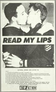 Read My Lips (boys). Verso: Why we kiss.