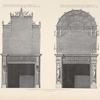 Chimney-pieces in first and second drawing rooms in Earl Derby's house in Grosvenor square.