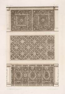 [Three designs for wall panels... Digital ID: 1583511. New York Public Library