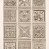 Tabulata itionum; desseings [sic] des planchers des galleries. [sic]