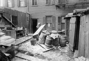 Tenement Backyard