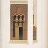 Entrée d'une mosquée à Alexandrie.