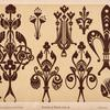 Powderings. Suited for stencilling on walls and dadoes. They may be in any simple colours [sic], [...]