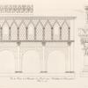 Vue du porche du monastère de Lorsch entre Heidelberg & Darmstadt, bati en 774.