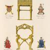 Siège en bronze doré, vulgairement appellé trône Dagobert.