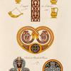 Vases et ornemens [sic] du IXe siècle, tirés de deuz MSS. latins.