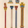 Détails d'architecture, extraits de divers MS. du IXe siècle.