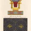 Sièges et ornemens [sic] tirés d'un MS. grec du IXme. siècle, [...] Étoffe tissue de soye [sic] et d'or, trouvée dans un tombeau [...]