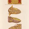 Ceintures de chaussures dites de Charlemagne.