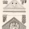 Frontons de deux edifices des Xe. et XIe. siècles. [...]