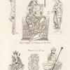 Costumes du Xe. siècle extraits de divers manuscrits de la bibliothèque du roi.