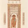 Peinture représentant un evêque, tirée d'un MS. exécuté vers l'an 989.