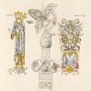 Crosse de l'archevêque Atalde, mort en 933, trouvée dans son tombeau, placée dans le chœur de la cathédrale de Sens.