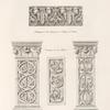 Pilastre du cloître de St. Sauveur, à Aix en Provence. (XIe. siècle.)