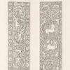 Diptyques [sic] d'ivoire dont on croit le travail antérieur au IIe. siècle conservés anciennement dan le trésor de la cathédrale de Beauvais.