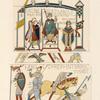Fragmens [sic] de la tapisserie de la reine Malthide.