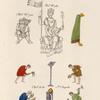 Costumes et meubles de XIme. siècle, tirés de pusieurs MSS. de la bibliothèque impériale.