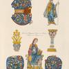 Costumes de femme et ornemens [sic] du XIe. siècle.
