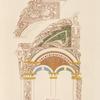 Arcades tirées de peintures d'une bible manuscrite du onzième siècle.