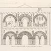 Portail de l'église St. Nicolas de Civray à dix lieues de Poitiers.