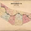 Outline Map of Montgomery Co. New York