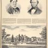 Mrs. Wm. Macomber. ; Wm. Macomber. ; Res. of The Late Wm. Macomber, Alabama TP., Genesee Co., N.Y.