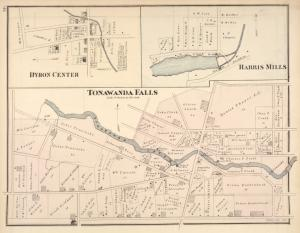Tonawanda Falls [Village]; Byron Center [Village]; Harris Mills [Village]