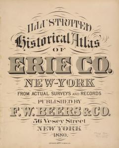 Illustrated historical atlas of Erie Co., New York