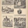 Res. of A. Yund Mill Grove, N.Y. ; Graded School, Alden, N.Y. ; Emile Yund, Mill Grove, Erie County, N.Y. ; J. Parker. ; Medical Office and Residence of Dr. O. P. Crane, Akron, N.Y. ; Res. of Franklin Dole Eden, N.Y. ; Residence of Mr. Isaac N. Fisher, Town of West Seneca.