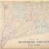 Map of Dutchess County New York