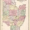 Plan of Saratoga Co. New York.