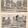 Res. of W.C. Bronson, North Broadway Saratoga Springs, N.Y. ; Temple Grove Seminary, Saratoga Springs, N.Y.