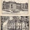 Medical Institute, T.E. Allen, M.D. Proprietor Circular St. Saratoga Springs, N.Y. ; Residence of Seymour Ainsworth, Esq. Saratoga Springs
