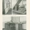 A. Heythum: Psací stůl nekližený a montovaný. Rozložený a stavéný.