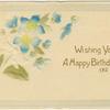 Wishing you a happy birthday.