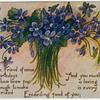 [Bouquet of purple flowers]