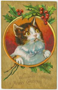 Wishing you a merry Christmas. Digital ID: 1585592. New York Public Library