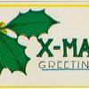 X-mas greetings.