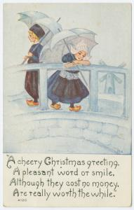 A cheery Christmas greeting,...