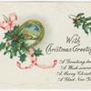 With Christmas greetings.