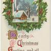 Hearty Christmas greeting and all good wishes.