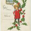 I wish you a merry Christmas.