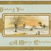 Wishing you a merry Christmas.