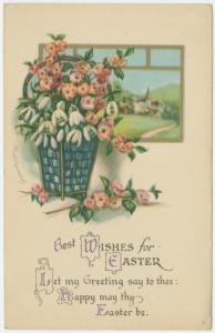 Best wishes for Easter.