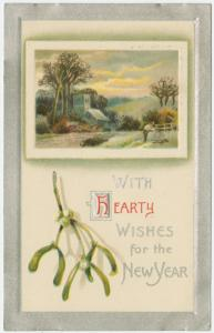 With hearty wishes for the New Year.