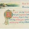 New Year's greetings.